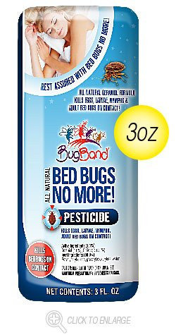 Bed Bug No More Spry Travel 12x3 Fluid oz Case by BUG BAND