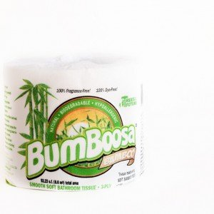 Bathroom Tissue Bamboo 1x count Each by BUM BOOSA BAMBOO BABY PRODUCTS