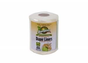 Diaper Liners 1x100 count Each by BUM BOOSA BAMBOO BABY PRODUCTS