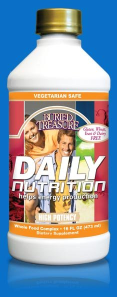 Image 0 of Daily Nutrition 1x16 Fluid oz Each by BURIED TREASURE