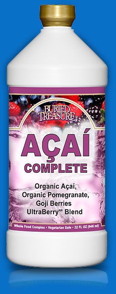 Image 0 of Acai Complete Blend 1x32 Fluid oz Each by BURIED TREASURE