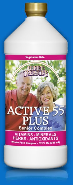 Active 55 Plus 1x32 oz Each by BURIED TREASURE