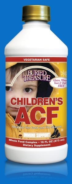 Image 0 of Children Acute Cold & Flu 1x16 Fluid oz Each by BURIED TREASURE