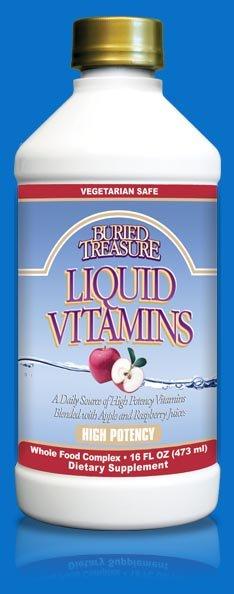 Image 0 of Vitamins Liquid Hi-Potncy 1x16 Fluid oz Each by BURIED TREASURE