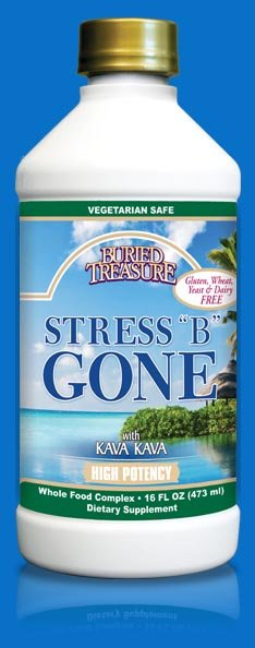 Image 0 of Stress Be Gone 1x16 oz Each by BURIED TREASURE