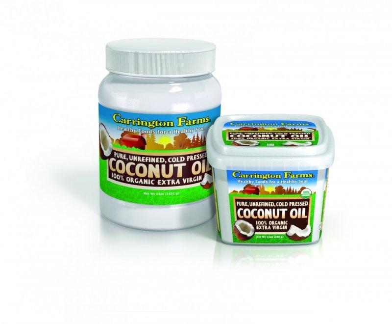 Coconut Oil Organic 6x54 Fluid oz Case by CARRINGTON FARMS