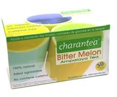 Tea Bitter Mln Diabetes 1x30 Bag Each by CHARANTEA