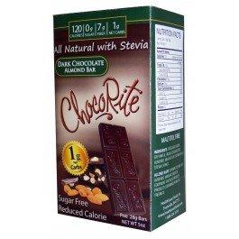 Bar Dark Chocolate Almond 1x5 oz Each by CHOCORITE