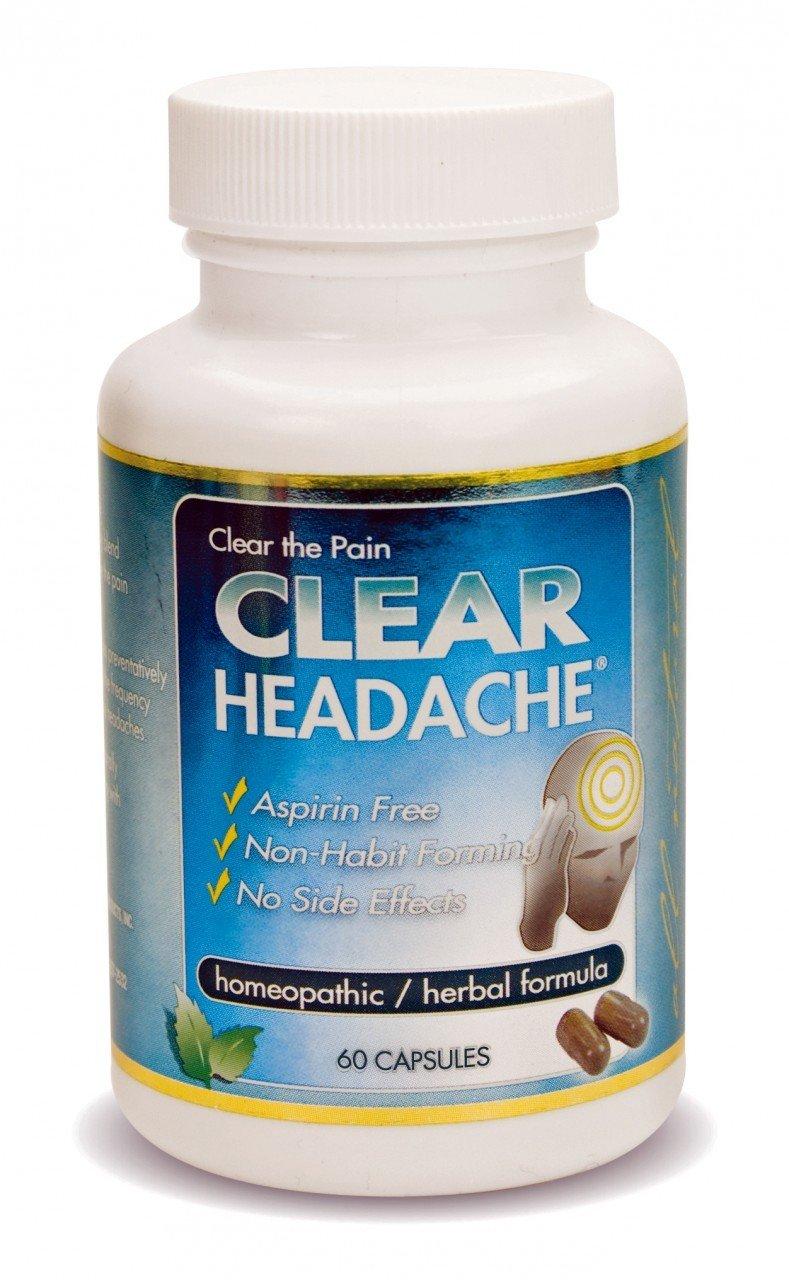 Clear Headache 1x60 Cap Each by CLEAR PRODUCTS