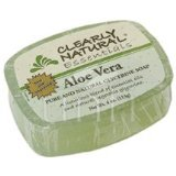 Bar Soap Glycerine Aloe 1x4 oz Each by CLEARLY NATURAL