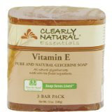 Bar Soap Glyc Vit E 3Pk 1x3/4 oz Each by CLEARLY NATURAL
