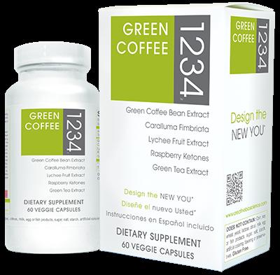 Image 0 of Green Coffee Bean 1234 1x60 VCap Each by CREATIVE BIOSCIENCE