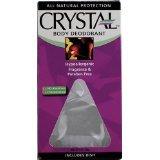 Crystal Body Rock Deodorant 1x count Each by CRYSTAL DEODORANTORANTS