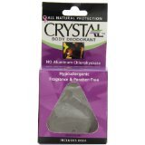 Crystal Body Rock Deodorant 1x3 oz Each by CRYSTAL DEODORANTORANTS