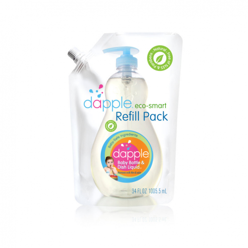Baby Bottle&Dish Liq Refill 1x34 Fluid oz Each by DAPPLE