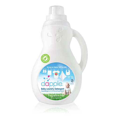 Baby Laundry Detergent 1x50 Fluid oz Each by DAPPLE