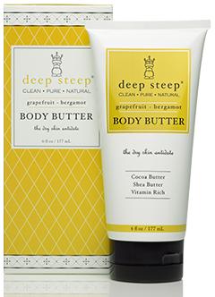 Body Butter Grape Fruit Brgmnt 1x6 oz Each by DEEP STEEP