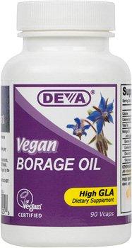Borage Oil 500Mg Vegan 1x90 VCap Each by DEVA VEGAN VITAMINS