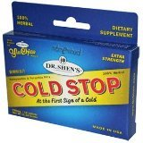 Coldstop-Intro Pack 1x15 Tab Each by DR. SHEN'S
