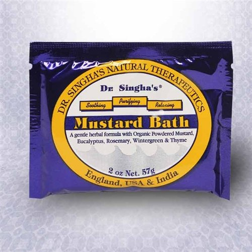 Mustard Bath 2 Oz 1x2 oz Each by DR. SINGHA'S MUSTARD BATH