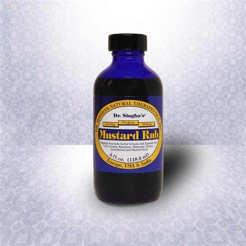 Mustard Rub 1x4 oz Each by DR. SINGHA'S MUSTARD BATH