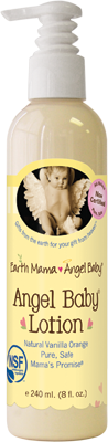 Angel Baby Lotion 1x4 Fluid oz Each by EARTH MAMA ANGEL BABY