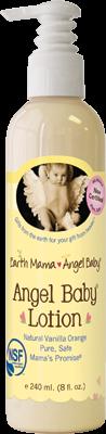 Angel Baby Lotion 1x8 Fluid oz Each by EARTH MAMA ANGEL BABY