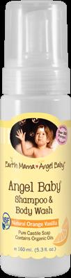Angel Baby Shmp & Body Wash 1x5.3 Fluid oz Each by EARTH MAMA ANGEL BABY