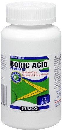 Boric Acid Powder 6 Oz By Humco