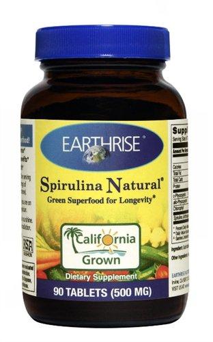 Spirulina 500 Mg 1x90 Tab Each by EARTHRISE