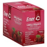 Ener-C Raspberry 1000Mg 1x30 PackT Each by ENER-C