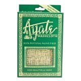 Washcloth Ayate Fiber 1x count Each by FLOWER VALLEY