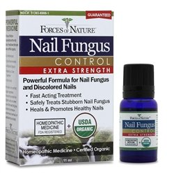 Nail Fungus Control Organic(95%+) Xtr 1x11 ML Each by FORCES OF NATURE