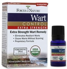 Wart Control Organic(95%+) Xstrng 1x11 ML Each by FORCES OF NATURE