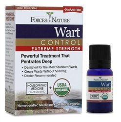 Wart Control Organic(95%+) Xtreme 1x11 ML Each by FORCES OF NATURE