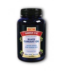 Black Currant Oil 1000 Mg 1x30 Cap Each by HEALTH FROM THE SUN