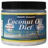 Coconut Oil Raw Unrefined 1x15.3 Fluid oz Each by HEALTH SUPPORT