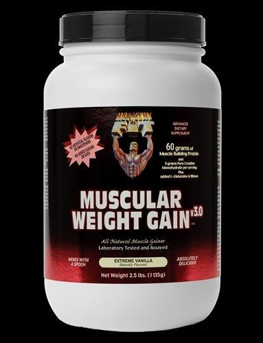 Image 0 of Muscular Wght Gain 3 Van 1x2.5 LB Each by HEALTHY 'N FIT