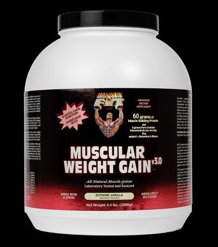 Image 0 of Muscular Wght Gain 3 Van 1x4.4 LB Each by HEALTHY 'N FIT