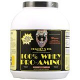 Image 0 of Whey Pro-Amino 100% Choc 1x5 LB Each by HEALTHY 'N FIT