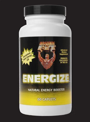 Image 0 of Energize Energy Booster 1x60 Cap Each by HEALTHY 'N FIT