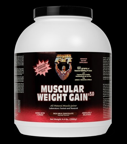 Image 0 of Muscular Wght Gain 3 Choc 1x4.4 LB Each by HEALTHY 'N FIT