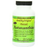 Image 0 of Astaxathin 4 Mg 1x150 Soft Gel Each by HEALTHY ORIGINS