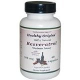 Image 0 of Resveratrol 300Mg 1x60 VCap Each by HEALTHY ORIGINS