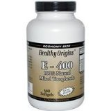 Image 0 of Vitamin E 400Iu 1x360Soft Gel Each by HEALTHY ORIGINS