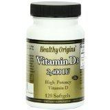 Image 0 of Vitamin D3 Gels 2400Iu 1x120Soft Gel Each by HEALTHY ORIGINS