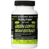Image 0 of Green Coffee Bn Extr 400Mg 1x120 VCap Each by HEALTHY ORIGINS