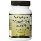 Image 0 of Vitamin D3 1 000 Iu 1x90Soft Gel Each by HEALTHY ORIGINS