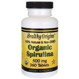 Image 0 of Spirulina Organic 500Mg 1x360 Tab Each by HEALTHY ORIGINS