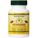 Image 0 of Pycnogenol 30Mg 1x60 VCap Each by HEALTHY ORIGINS